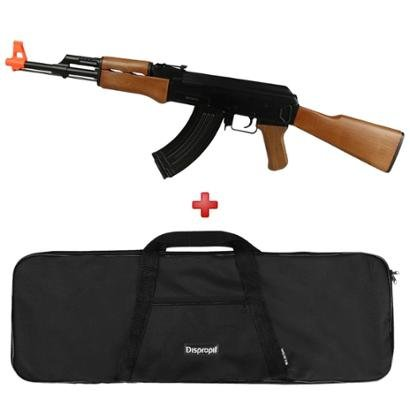 Rifle Airsoft Elétrico Cyma AK47 CM.022 + Capa Simples - Unissex