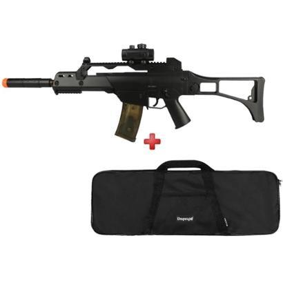 Rifle Airsoft Elétrico Cyma G36 CM. 021 + Capa Simples - Unissex