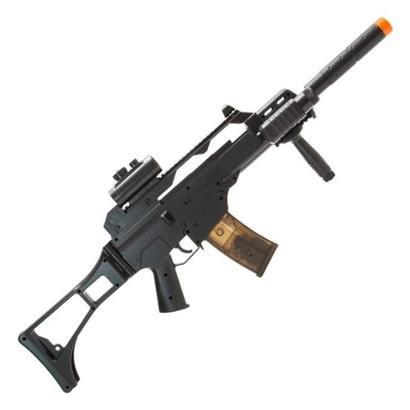 Rifle de Airsoft AEG Elétrico G36 CM021 Completo Cyma - Unissex