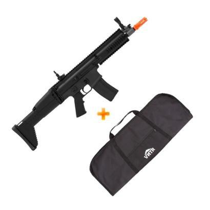 Rifle de Airsoft AEG Scar Labs CM067 Cyma + Capa - Unissex