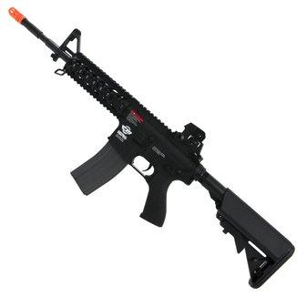Rifle De Airsoft Elétrico G&G Cm16 Raider-L M4a1 Ris