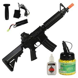Rifle Elétrico Cyma M4 CQB CM176 + BB King 0.12g 1000un + Óleo de Silicone