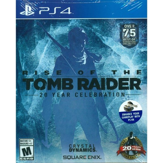 Rise Of Tomb Raider: 20 Years Celebration - Ps4 - Incolor