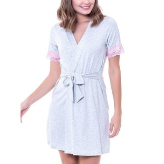 Robe Feminino Curto Podiun 227042 Branco
