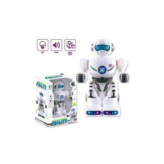 Robô Ágil Com Luzes E Sons - Bate E Volta - Polibrinq