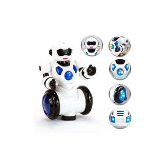 Robô Moving Dançarino Infantil Com Som E Luz - Polibrinq