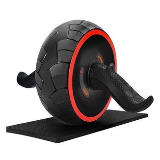Roda Abdominal Premium Bravus Ultra Larga com Tração Profissional