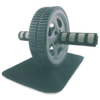 Roda de Abdominal e Lombrar Slider Whell WCT Fitness