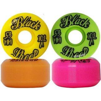 Roda De Skate Importada Black Sheep 53mm Colorida