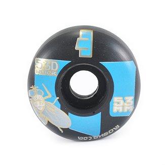 Roda de Skate Moska 53mm -Preto