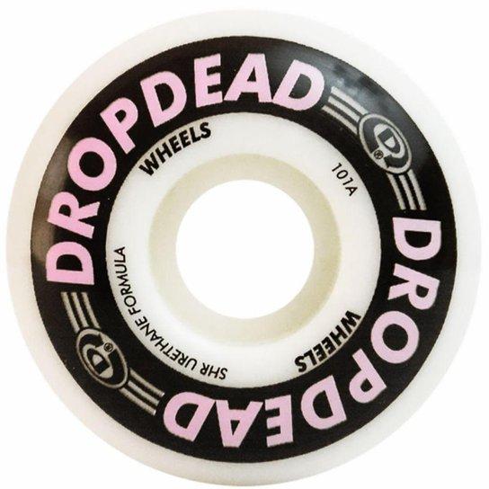 Roda Drop Dead Killer 52mm 101A - Branco