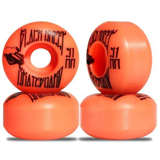 Roda Skate Black Sheep 51mm 95a Laranja