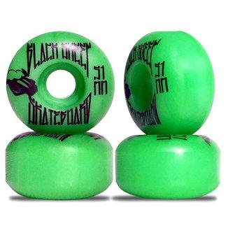 Roda Skate Black Sheep 51mm 95a Verde