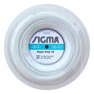 Rolo de Corda Sigma Super Poly 16 / 1.30 (Rolo com 200 metros)