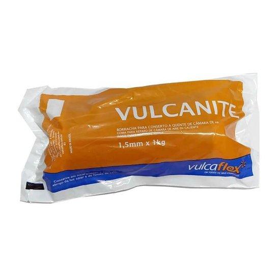 Rolo De Remendo Quente Vulk 1kg Vulcaflex - Remendo/ Manchão - Preto