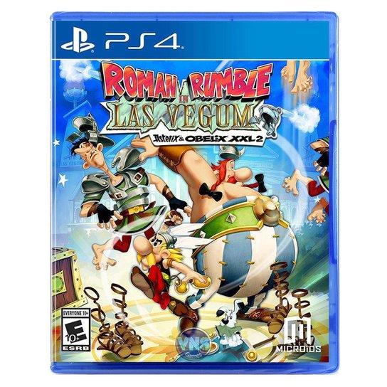 Roman Rumble In Las Vegum - Asterix And Obelix Xxl 2 - Ps4 - Incolor