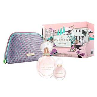 Rose Goldea Blossom Delight Bvlgari Kit – Perfume Feminino EDP + Miniatura + Nécessaire Kit