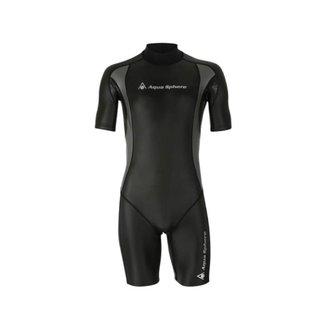 Roupa de Borracha Aqua Sphere Aqua Skin Short Suit Masculina