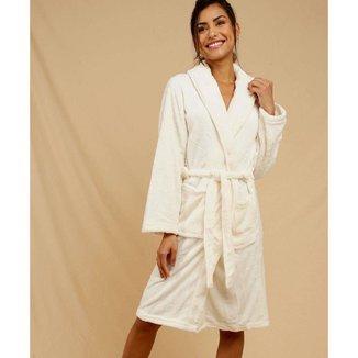 Roupão Feminino Fluffy Fleece Andreza - 10048060219