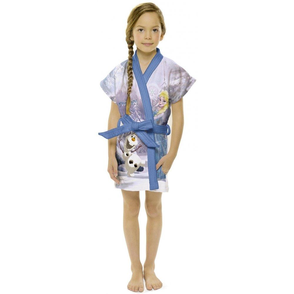 644ee4665c2d01 Roupão Infantil Frozen M (8 A10 Anos) 063476 - Lepper - Azul