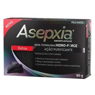 Sabonete Antiacne Asepxia Detox 80g