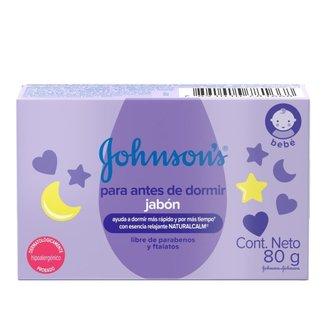 Sabonete Barra Hora do Sono Johnson's Baby 80g