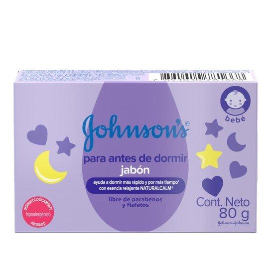 Sabonete Barra Hora do Sono Johnson's Baby 80g - Única