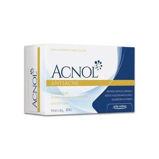 Sabonete de Enxofre + Ácido Salicilico Anti-acne Acnol 80g