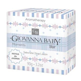 Sabonete em Barra Giovanna Baby Moments - Blue 90g