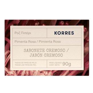 Sabonete em Barra Korres – Pimenta Rosa 90g