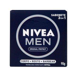 Sabonete em Barra Nivea Men Original Protect 90g