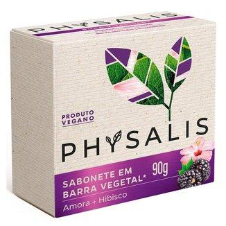 Sabonete em Barra Physalis – Pura Vitalidade Hibiscus e Amora 90g
