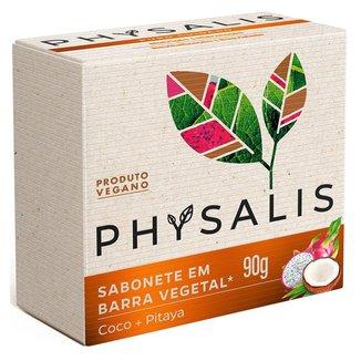 Sabonete em Barra Physalis – Puro Cuidado Coco e Pitaya 90g