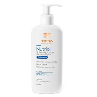 Sabonete Líquido Darrow Nutriol - Pele Seca 240ml
