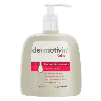 Sabonete Líquido Facial Dermovitin - Dermotivin Salix 300ml