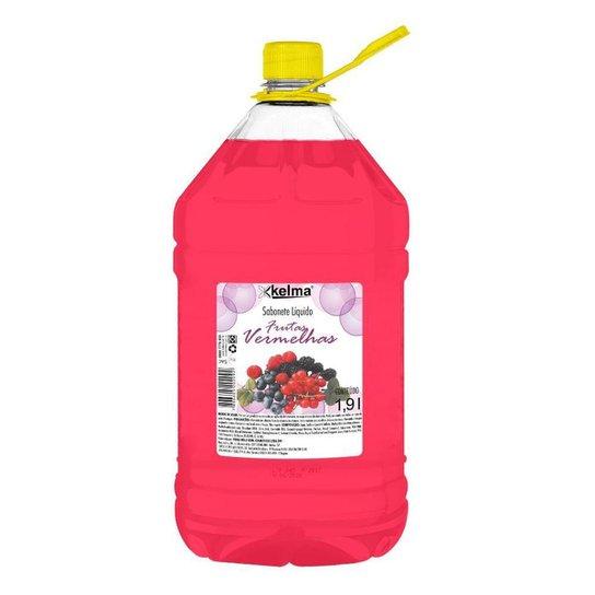 Sabonete Líquido Frutas Vermelhas 1,9L - Kelma - Rosa