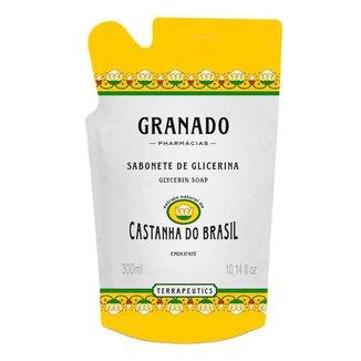 Sabonete Líquido Granado - Terrapeutics Castanha Do Brasil Refil 300Ml