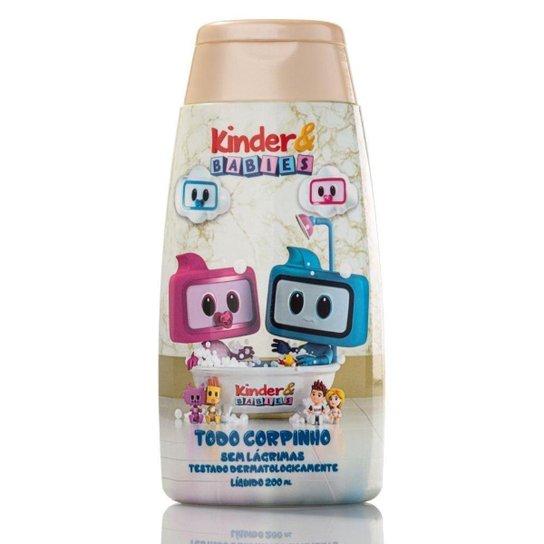 Sabonete Líquido Kinder & Babies 200 ml Carinho Cuidado - Incolor