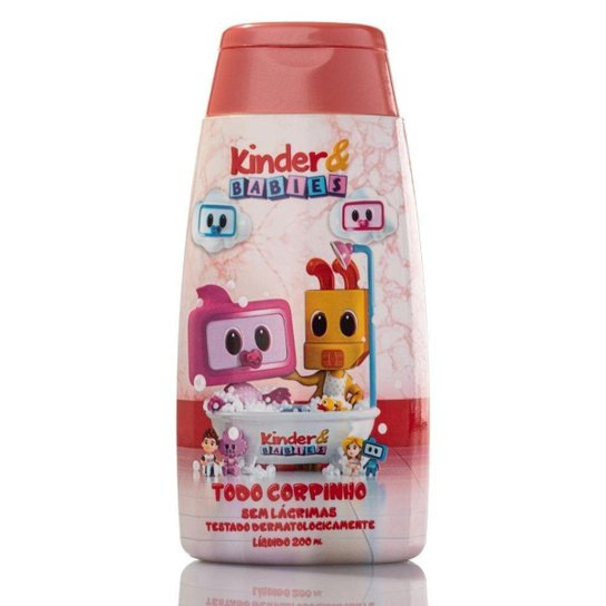 Sabonete Líquido Kinder & Babies 200 ml Corpinho Amorzinho - Incolor