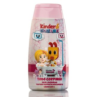 Sabonete Líquido Kinder & Babies 200 ml Menina Bebebzinho