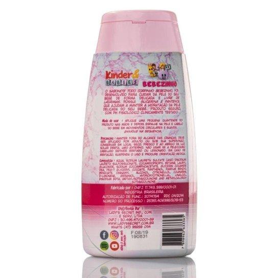 Sabonete Líquido Kinder & Babies 200 ml Menina Bebebzinho - Incolor