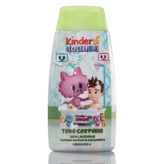 Sabonete Líquido Kinder & Babies 200 ml Menino Camomila - Incolor