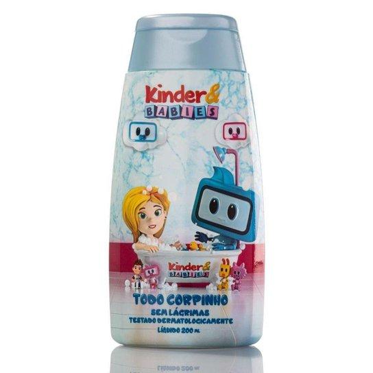 Sabonete Líquido Kinder & Babies 200 ml Menino Soninho - Incolor