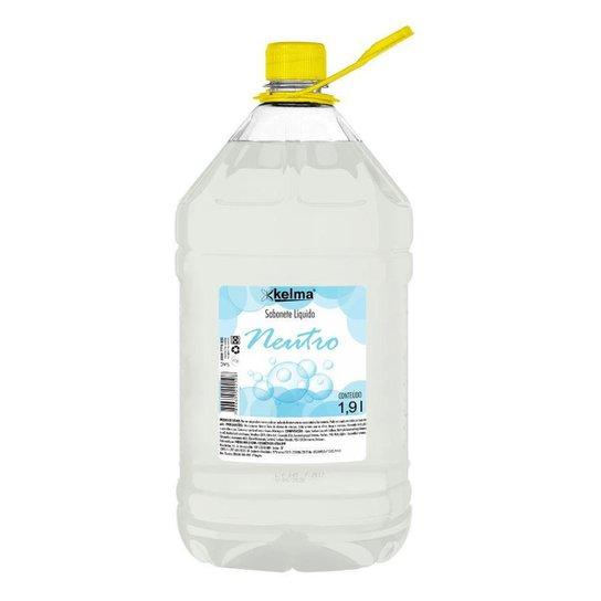 Sabonete Líquido Neutro 1,9L - Kelma - Branco