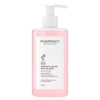 Sabonete Líquido para mãos Rosas Pharmacy Botanicals 300ml