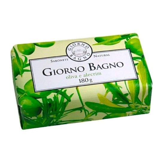 Sabonete Oliva Alecrim Giorno Bagno 180g - Verde Claro+Verde
