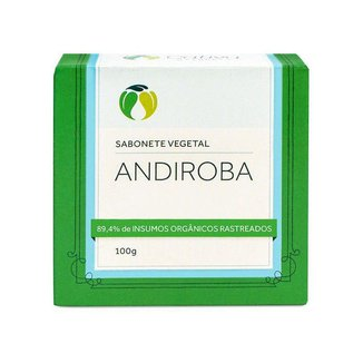 Sabonete Vegetal Andiroba Orgânico Natural Vegano 100g