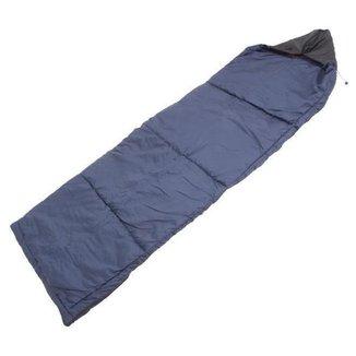 Saco de Dormir Trilhas e Rumos Marinho Pluma Adulto Extremo de +8C 1,8m
