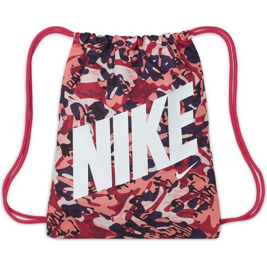 Sacola Infantil Nike Camuflada - Pink