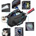 Sacola Mochila Fitness Academia Viagem Fashion Preta  + Brinde Fone Bluetooth i12